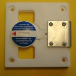 Verschlussdeckel Werkstückaufnahme für den Tampondruck
