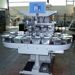 Automatisierung einer Tampondruckmaschine um Leder zu bedrucken
