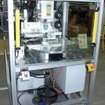 Tampondruckmaschine mit Rundschalttisch und Corona